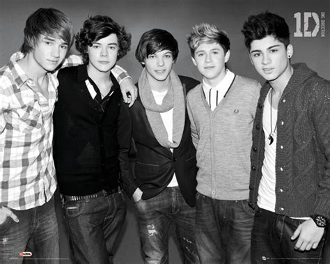 one direction b one direction b w poster sold at abposters com