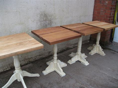 secondhand vintage and reclaimed bar and pub 14x quot new quot shabby chic tables code t 898a