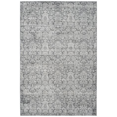 light grey area rug bungalow rose vishnu dark gray light grey area rug