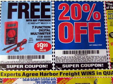 harbor freight coupons 20 off printable big savings with coupon page follow this link save big