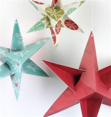 paper christmas decorations to make at home easy homemade paper christmas decorations designcorner
