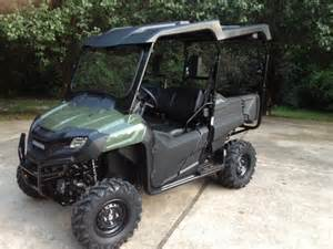Honda Pioneer 700 4 Roof 700 4 With Roof And Glass Winshield