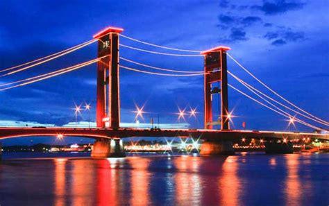 design jembatan musi 4 10 tempat wisata di palembang yang menarik tempat wisata