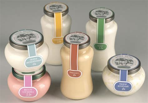 Design Home Concept Nice Our Farm S Glass Packaging From Moscow Popsop