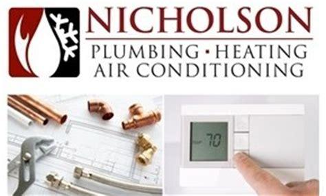 Nicholson Plumbing Heating Air Conditioning nicholson plumbing heating air conditioning inc
