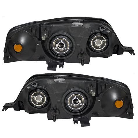 lincoln ls aftermarket headlights everydayautoparts 00 02 lincoln ls set of headlights