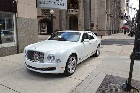 white gold bentley 2013 bentley mulsanne stock b630 for sale near chicago