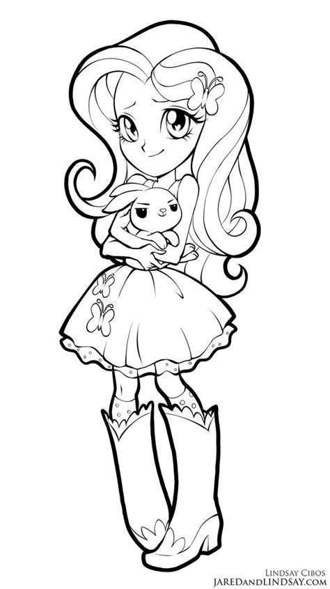 fluttershy equestria girls  lcibos coloring pages