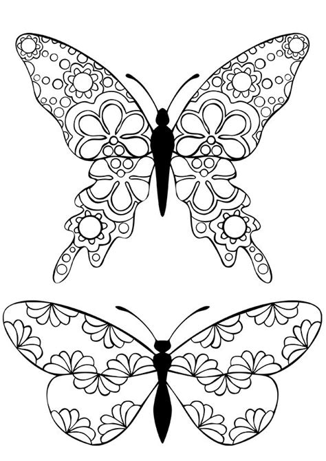 butterfly coloring pages pinterest relive your childhood free printable coloring pages for