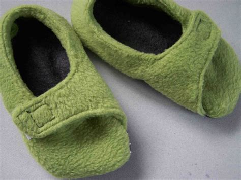 fleece slippers made by me shared with you fleece toddler slippers