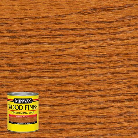 minwax 8 oz wood finish gunstock based interior stain