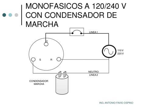 conexion capacitor motor monofasico motor monofasico instalacion y variador instrucciones de uso