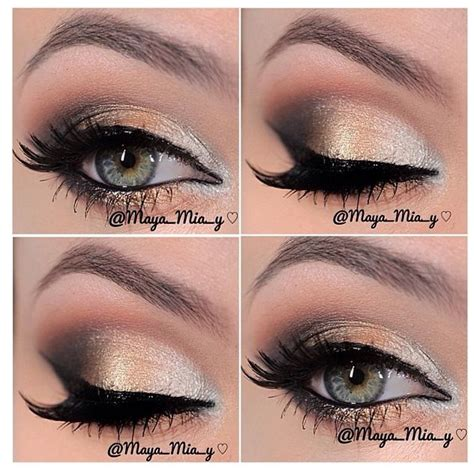 Eyeshadow Wardah Smokey gold smokey eye makeup makeup smokey eyeshadow eyebrows and smokey eye makeup