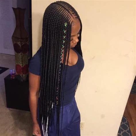 2 Layer Braids Pinterest:@Naimoniquee   Braids Baby