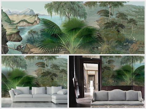 papier peint panoramique ananbo inspirations entree en