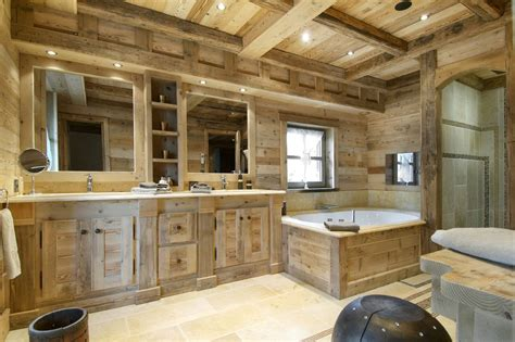 wooden house bathroom small design ideas of bathroom in country house