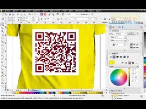 corel draw x4 qr code codigo qr fiable y artistico en corel draw youtube