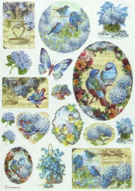 Decoupage Papers - details about rice paper for decoupage scrapbook sheet
