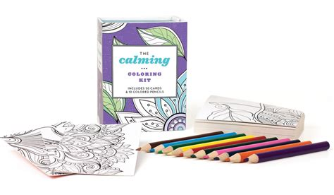 coloring book kits the calming coloring kit for 6 61 addictedtosaving