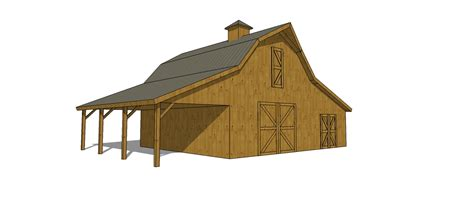 gable barn plans 22x50 gable barn plans with shed roof lean to