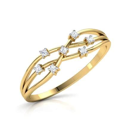 Intertwined Rings intertwined glim ring jewellery india caratlane