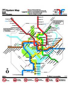 Dc Metro System Map by D C Metro Map Printable Pictures To Pin On Pinterest