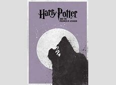 7 Minimal Harry Potter film Posters In Time Movie Clock