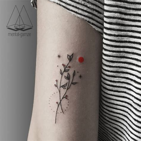 tattoo minimalist arm cutelittletattoos minimalist branch couple on the back