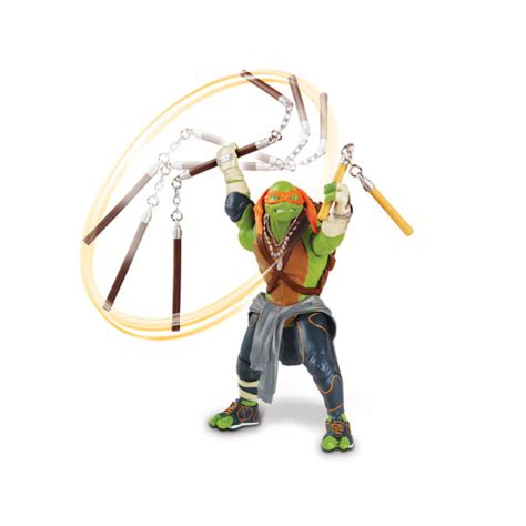 raphael basic art series 3836532425 teenage mutant ninja turtles movie michelangelo deluxe figure merchandise zavvi com