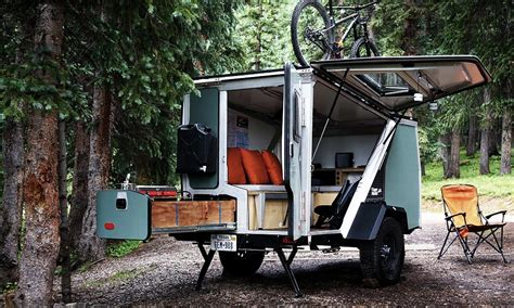 Camper Trailer Kitchen Designs Tigermoth Camper Trailer Cool Material