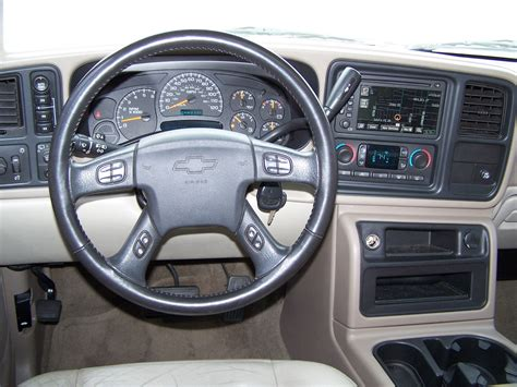 Chevrolet Tahoe Interior by 2005 Chevrolet Tahoe Interior Pictures Cargurus