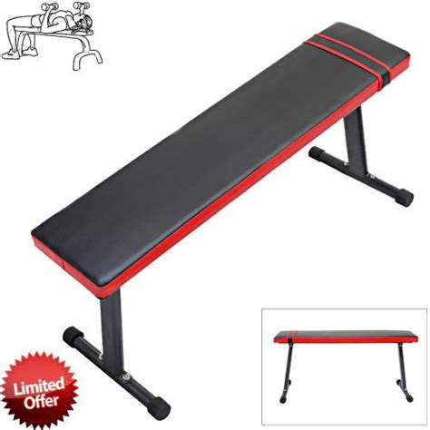 flat bench fly weight lifting gym fitness training workout folding abs