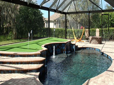 Artificial Putting Green Installation Kissimmee Florida Cost Of Putting A Pool In Your Backyard