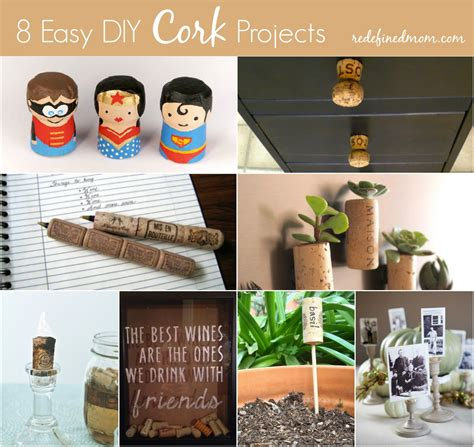 simple diy projects for 8 easy diy cork projects