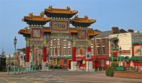 new year chinatown liverpool chinatown liverpool merseyside places