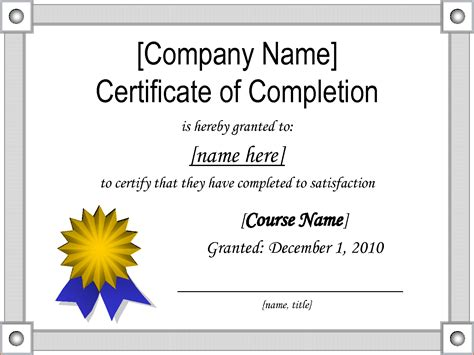 sample certificates of completion 4 sample certificate of completion teknoswitch