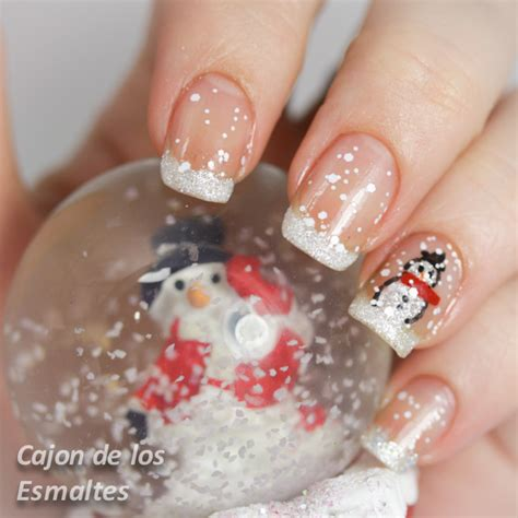imagenes de uñas decoradas simples u 241 as decoradas dise 241 o de u 241 as navide 241 o y simple paso a
