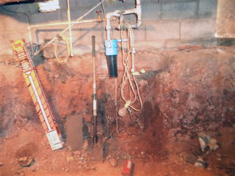 frontier basement systems crawl space repair before and