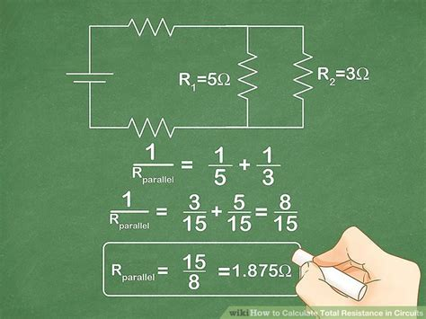 the formula for calculating the total resistance in a series circuit with three resistors is 4 ways to calculate total resistance in circuits wikihow