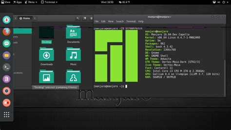 gnome themes arch linux manjaro gnome 16 04 development edition released with
