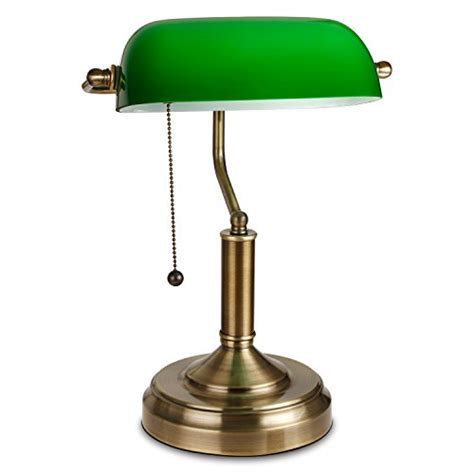 desk light fixtures torchstar traditional banker s l antique style emerald