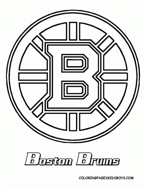 cool hockey coloring pages boston bruins coloring pages coloring home
