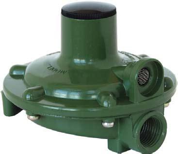 propane low pressure regulator, single stage, 140,000 btu