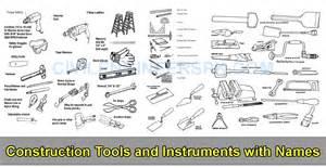 C V Resume Sample by Construction Tools And Instruments With Names Civil