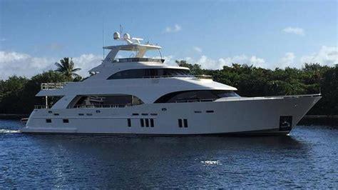 ocean alexander miami boat show news first ocean alexander 112 off to miami show ocean