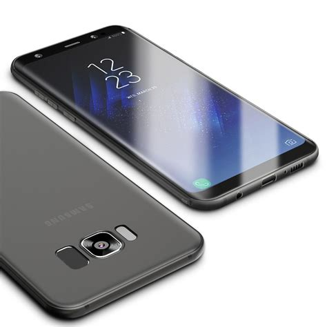 Samsung Galaxy S8 Plus Sand Scrub Ultra Thin S51 cafele micro scrub ultra thin soft tpu for samsung