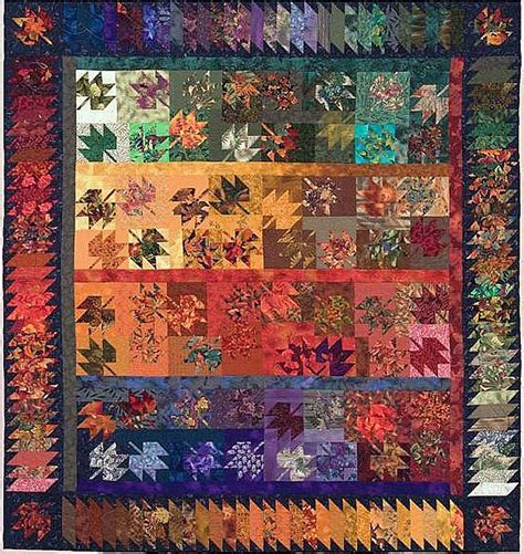 quilt inspiration q i classics autumn leaves