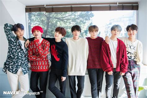 naver  dispatch bts christmas pictures