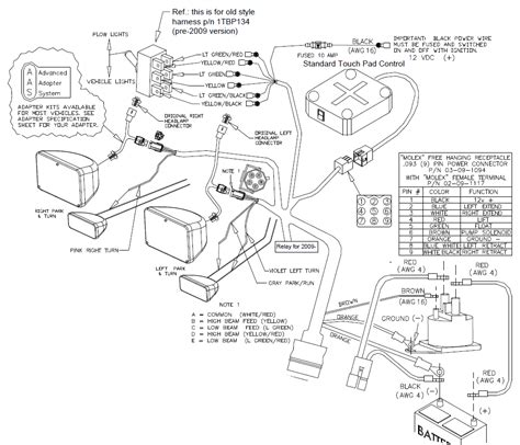 western plow wiring diagram on curtis sno pro 3000 get