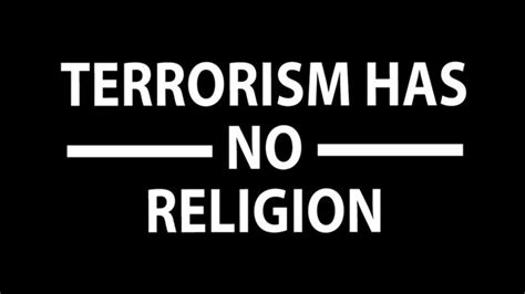 Kaos Terrorism Has No Religion how muslims around the world are condemning the